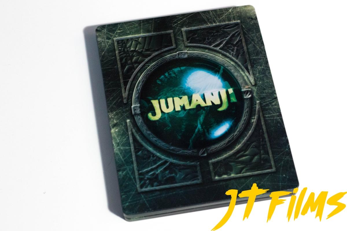 Jumanji / Jumanji: Bienvenidos a la jungla (Steelbook Blu-Ray)